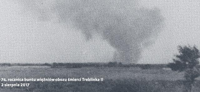 74th anniversary of the prisoners' revolt in Treblinka